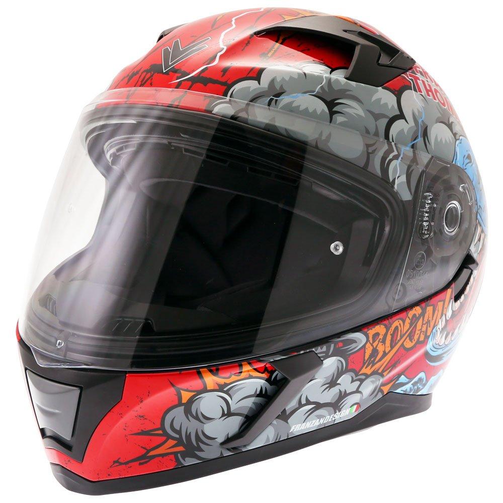 FT39SV Raptor Helmet Red