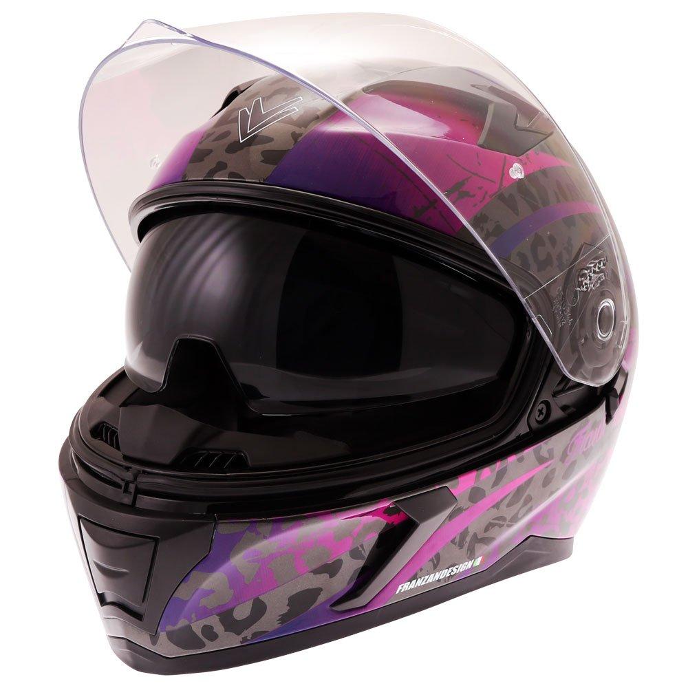 Frank Thomas FT39SV Alexa Helmet Pink Default Title