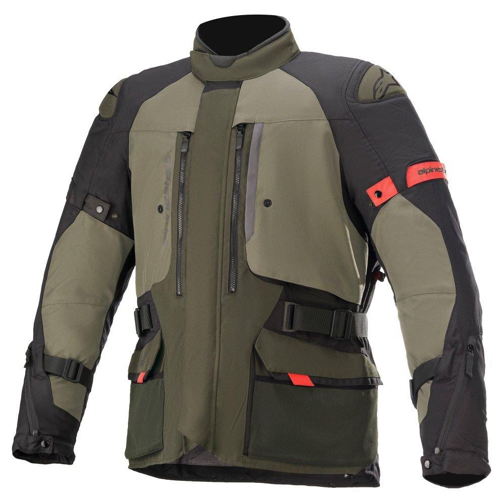 Alpinestars Ketchum Goretex Jacket Forest Military Green Mens - S