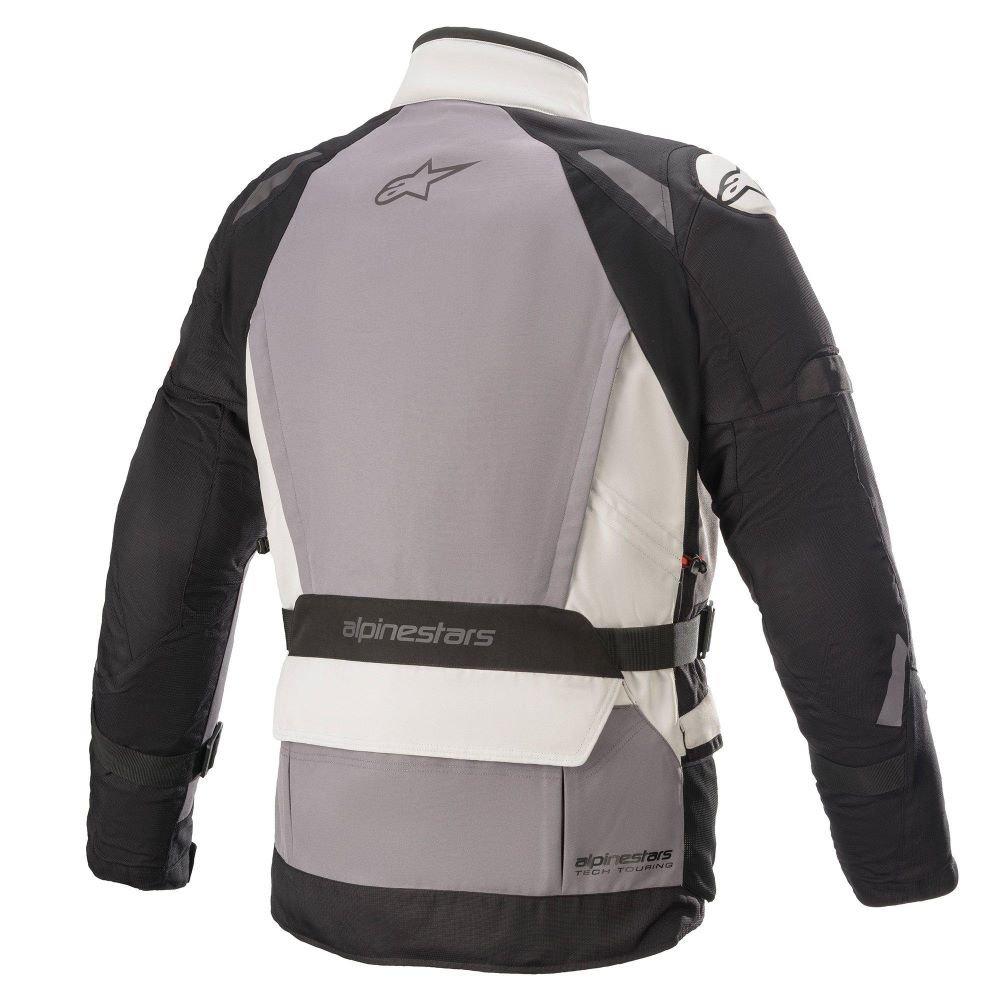 Alpinestars Ketchum Goretex Jacket Ice Grey Dark Grey Black Mens - S