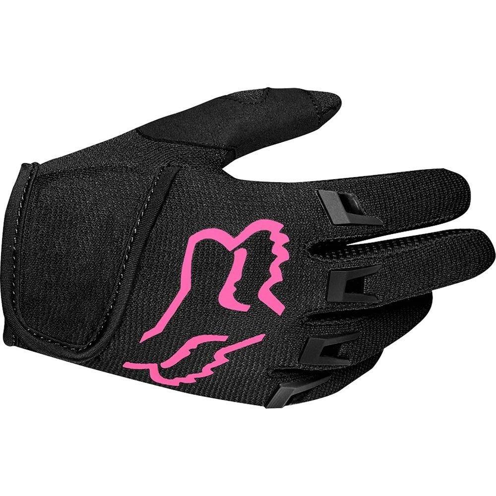 Fox Kids Dirtpaw Race Gloves Black Pink Default Title