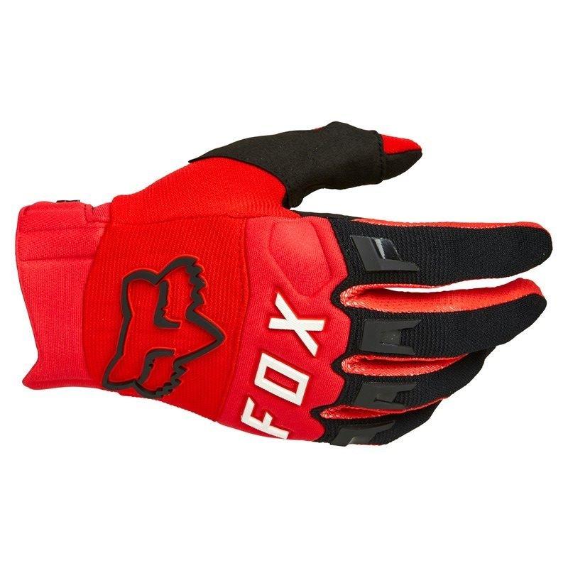 Dirtpaw Gloves Flo Red Fox Gloves