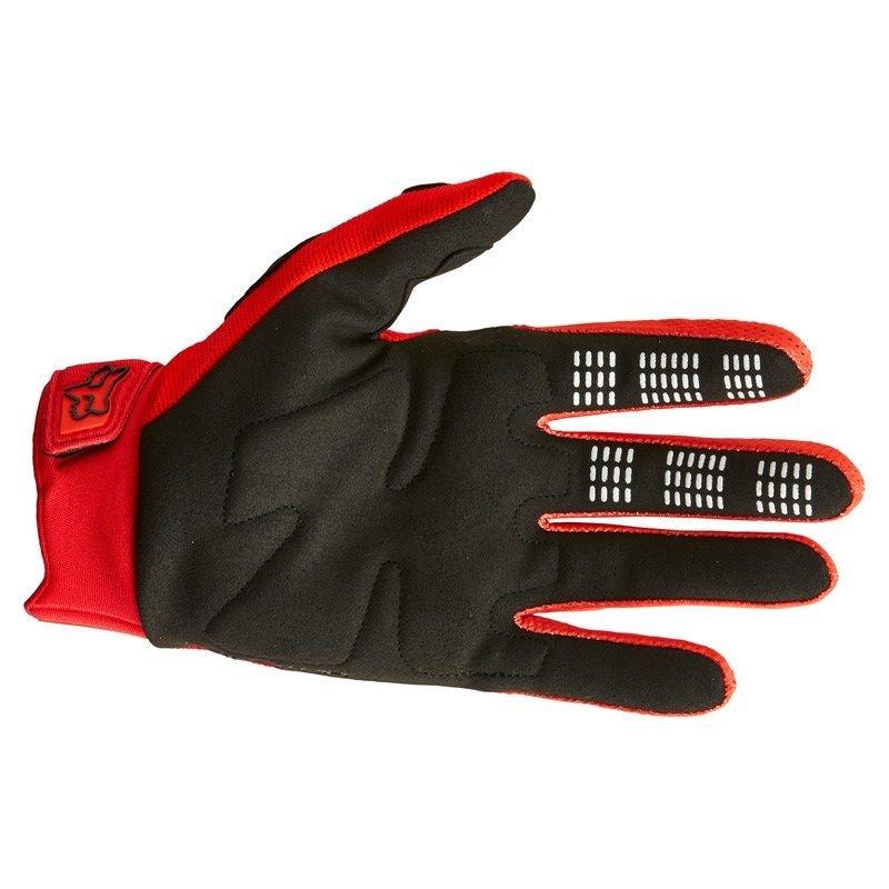 Fox Dirtpaw Gloves Flo Red Default Title