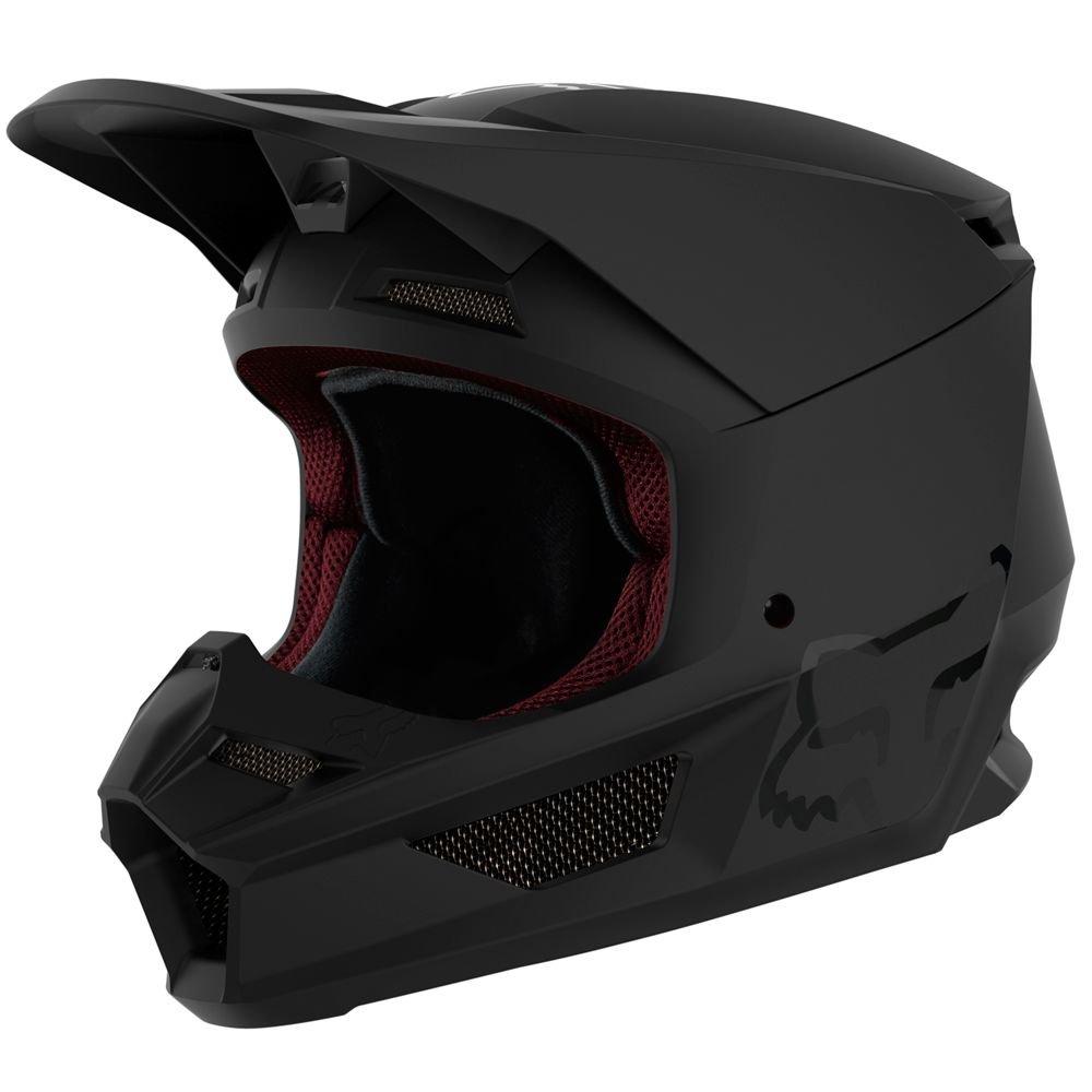 Youth V1 Helmet Matt Black Kids Motocross Helmets