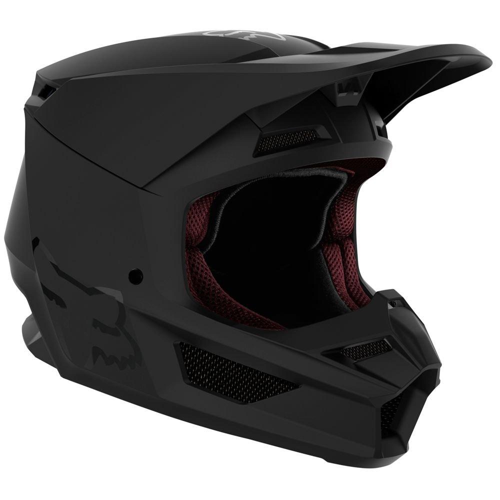 Fox Youth V1 Helmet Matt Black Default Title