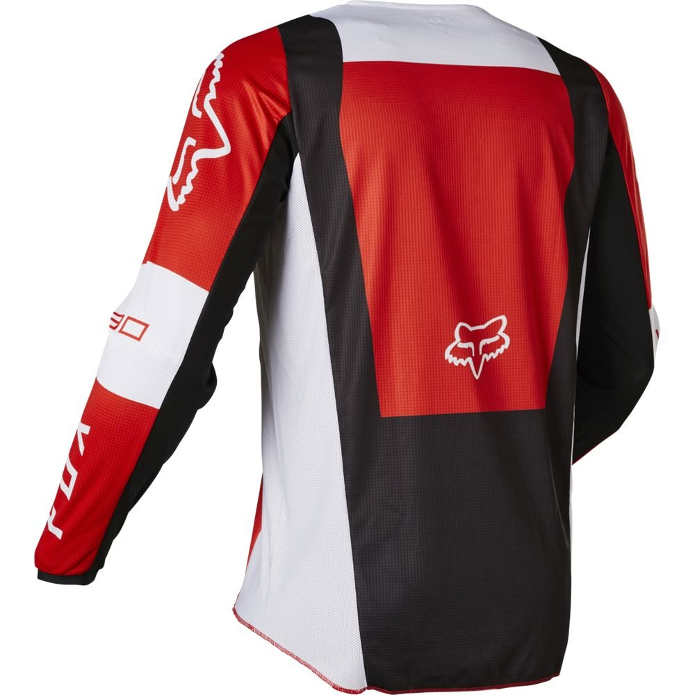 Fox 180 Lux Jersey Flo Red Mens - S