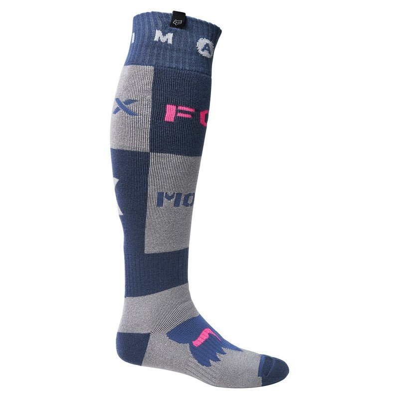 Fox Nobyl Fri Thick Sock Dark Indigo Mens - S