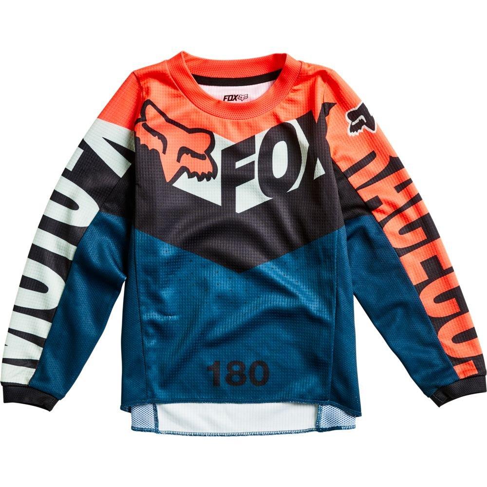 Fox Kids 180 Trice Jersey Grey Orange Default Title