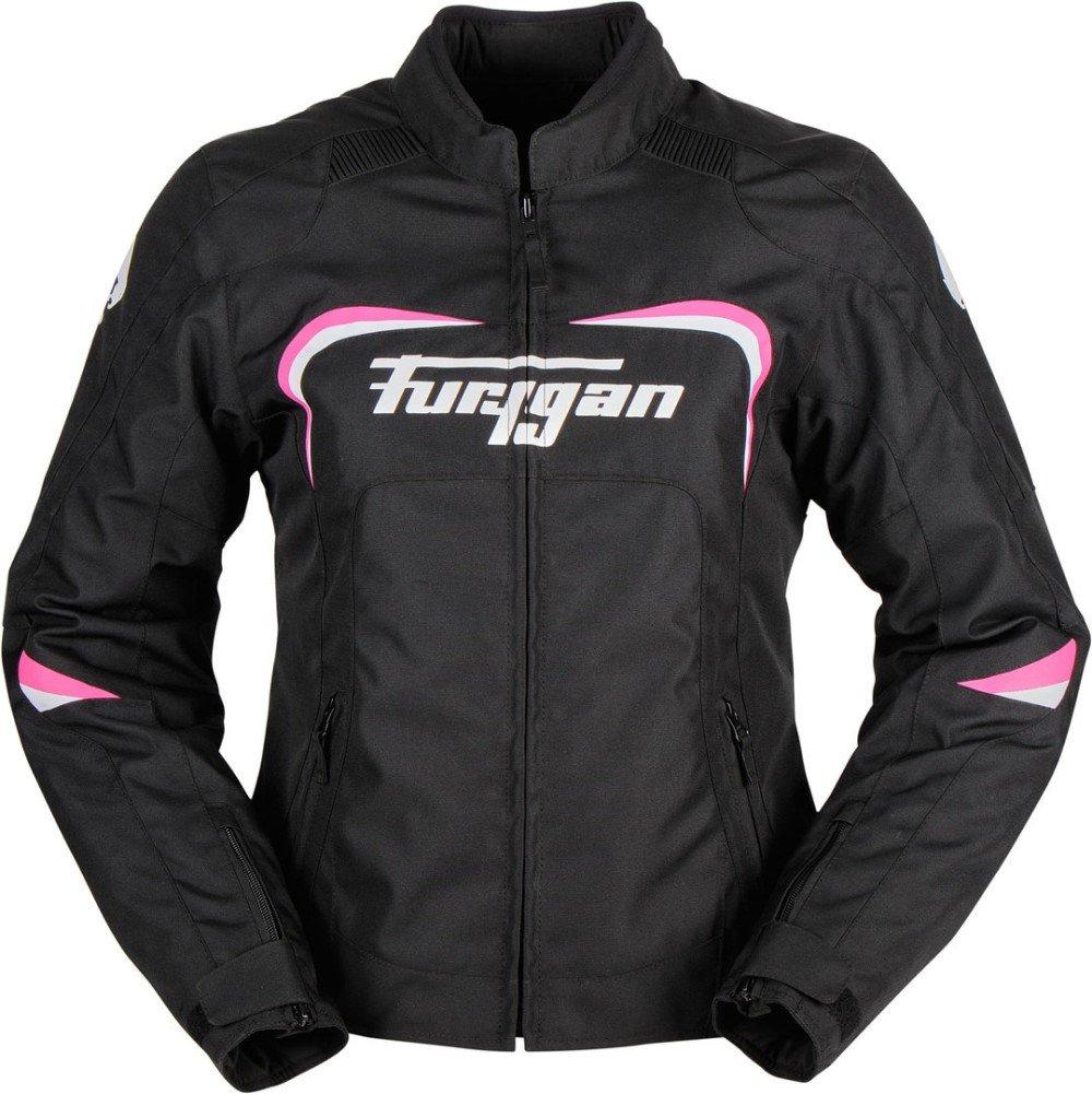 Cyane Jacket Black White Pink Furygan Ladies