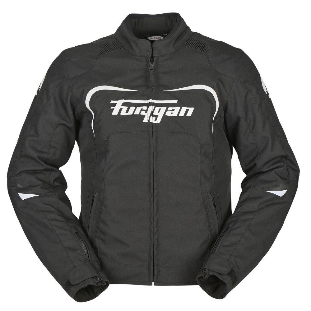 Cyane Vent Jacket Black White Furygan Ladies