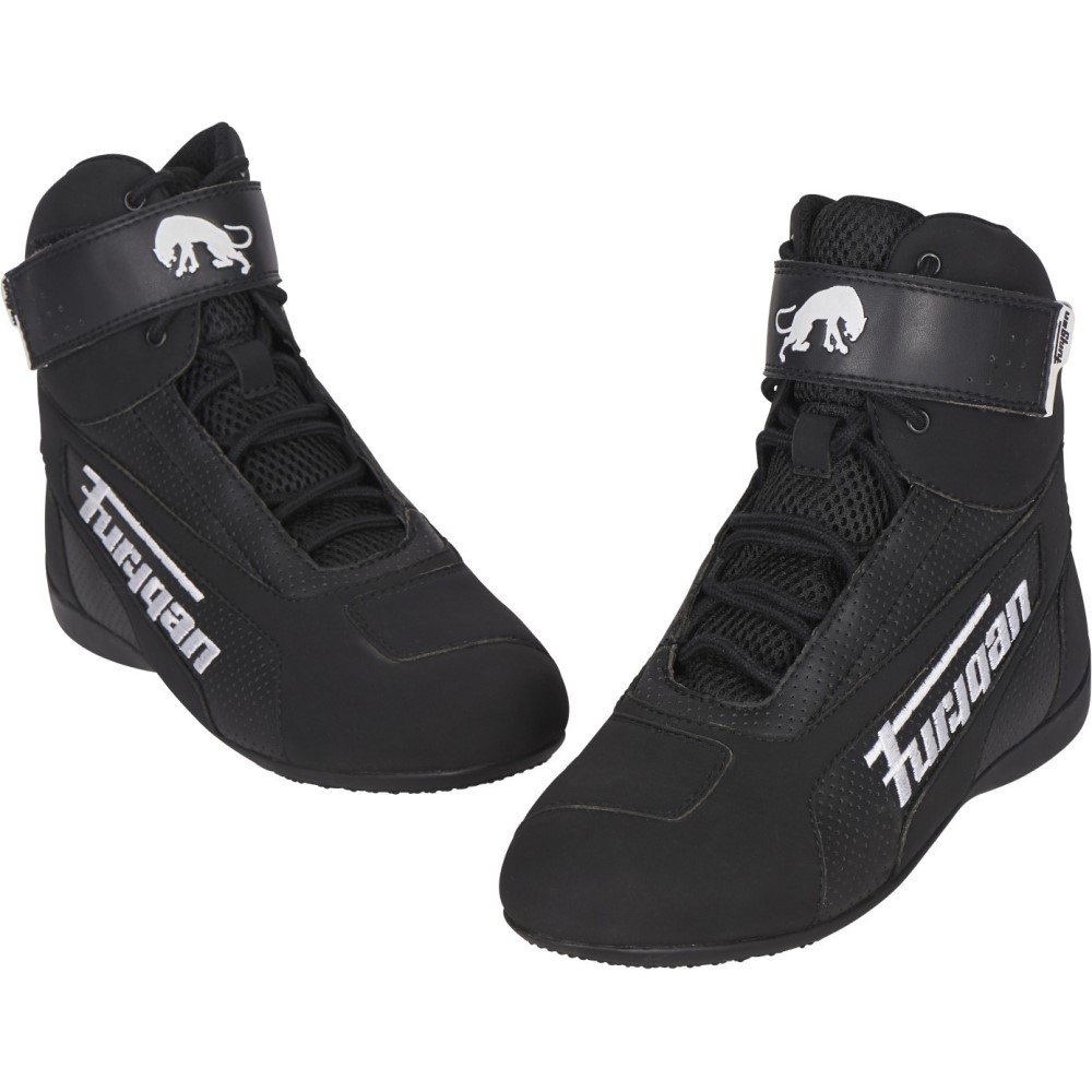 Zephyr Air Boots Black White Boots