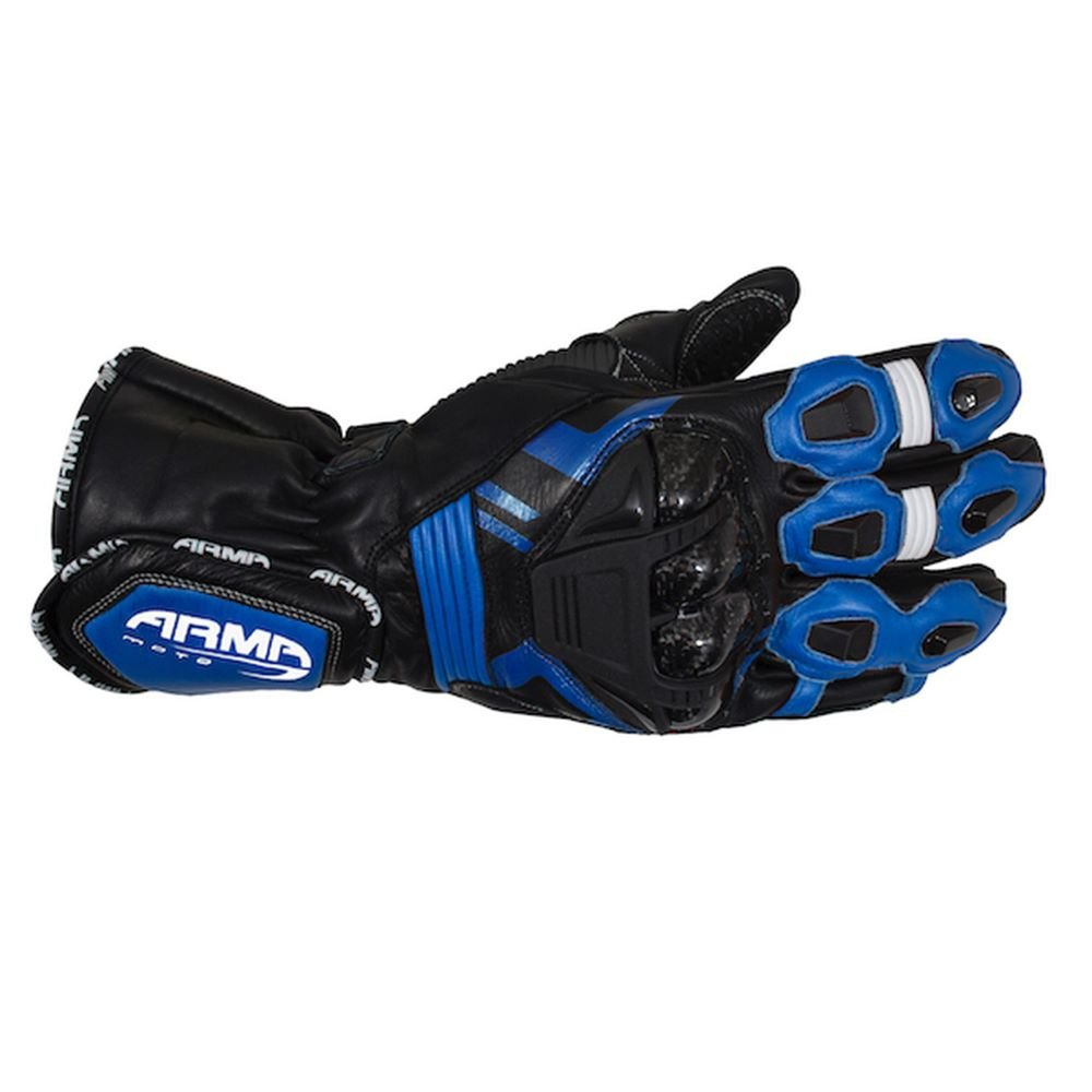 Armr S870 Gloves Black Blue Default Title