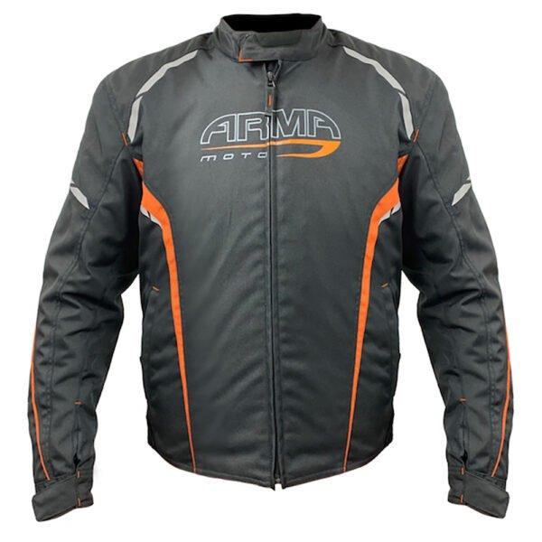 Eyoshi 2 Jacket Black Orange ARMR Clothing