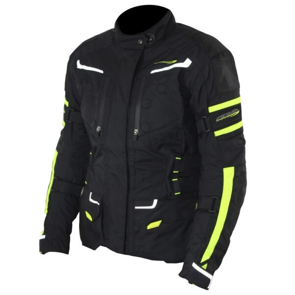 Armr Kumaji 2 Ladies Jacket Black Flo Yellow Default Title