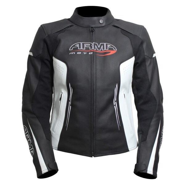 Armr Kimi Ladies Jacket Black White Default Title