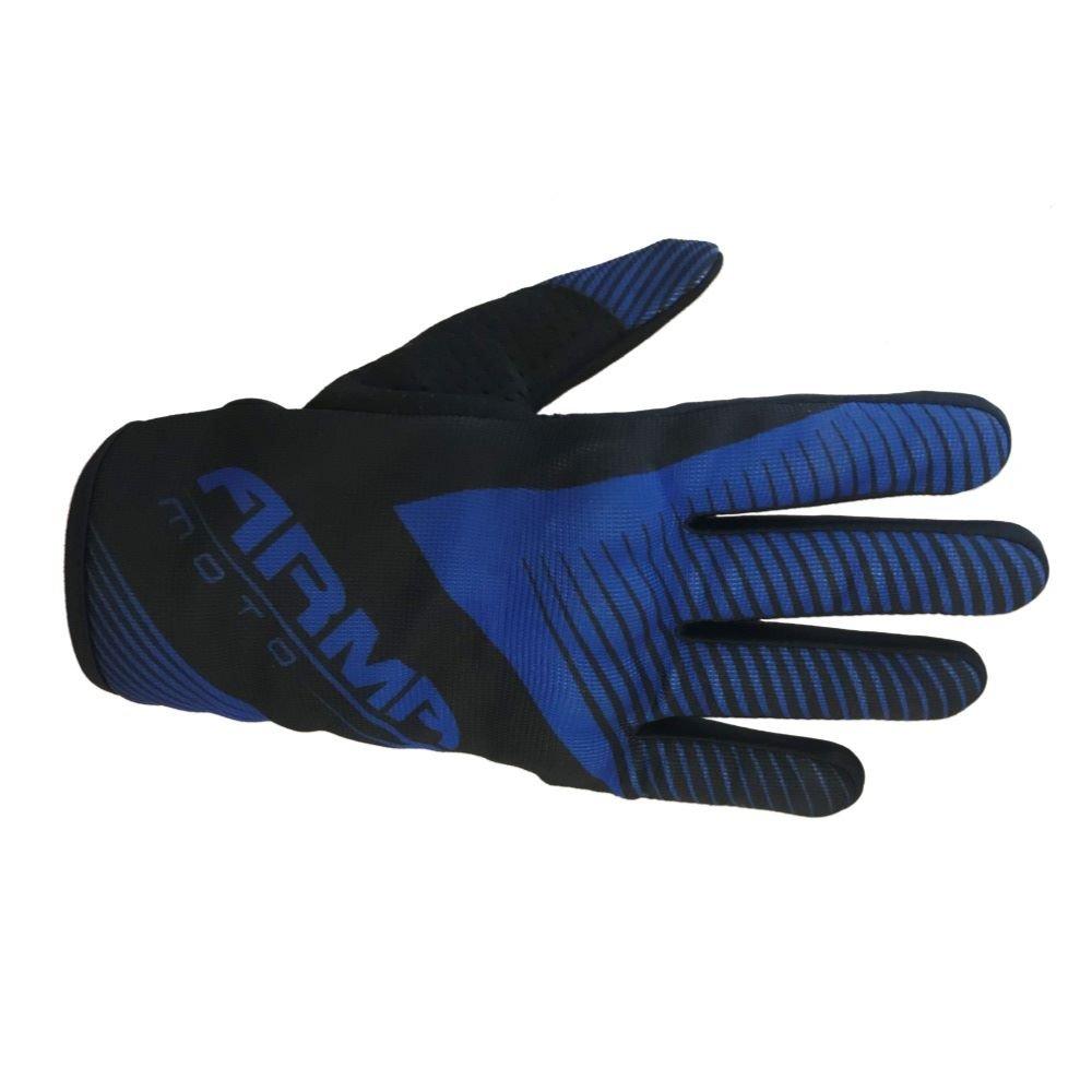 Armr KMX8 Kid MX Gloves Black Blue Kids - 3XS