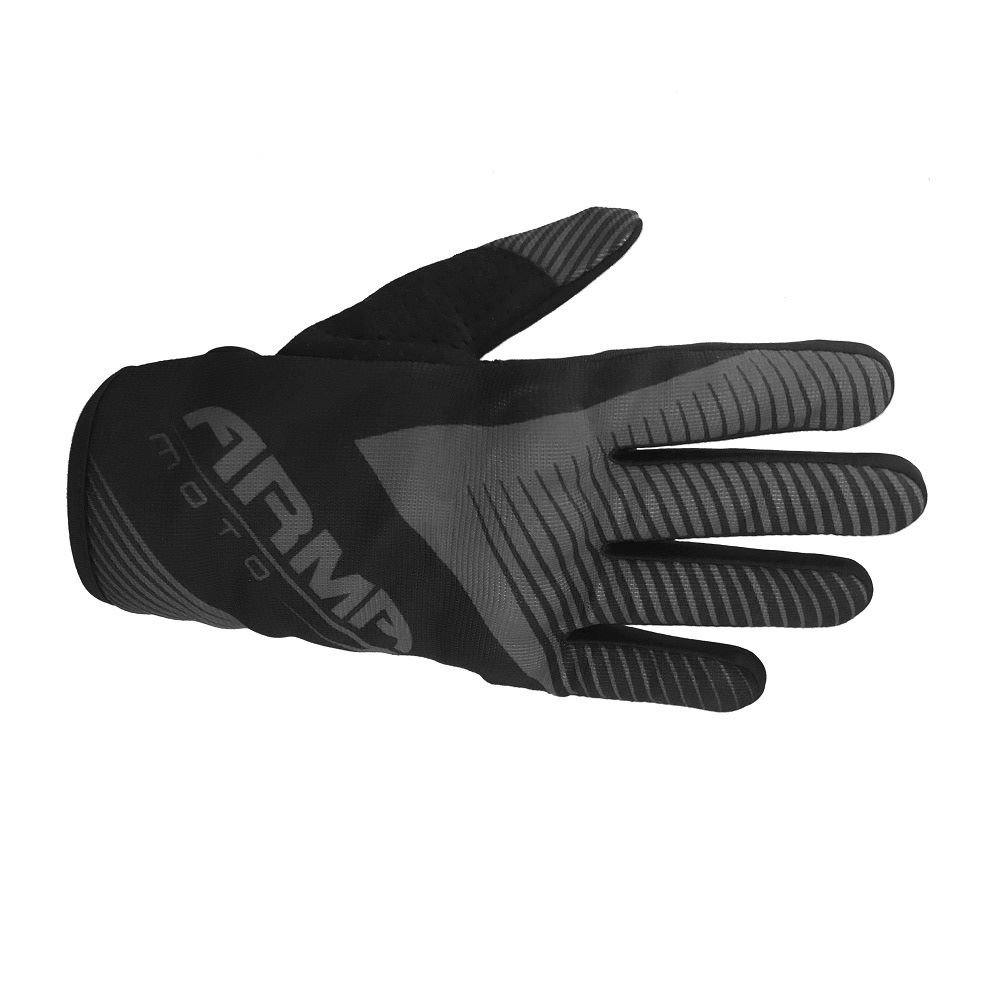 Armr KMX8 Kid MX Gloves Black Grey Kids - 3XS