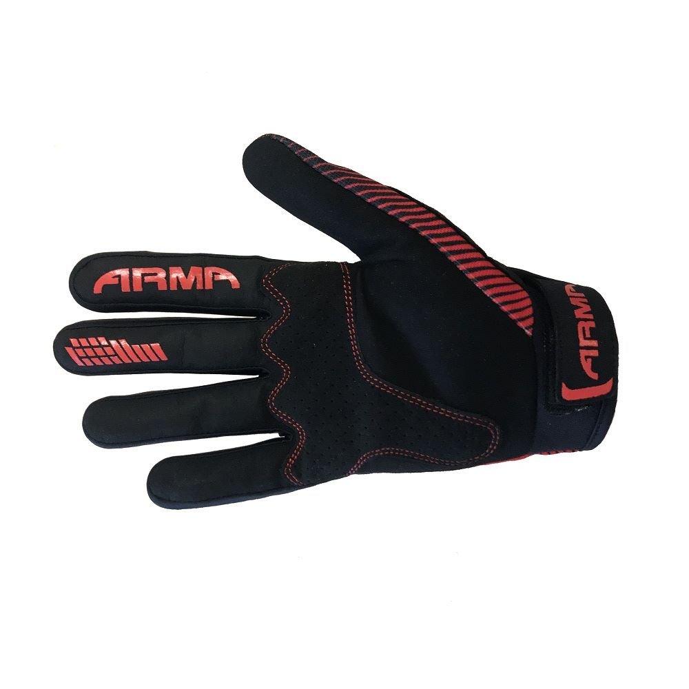 Armr KMX8 Kid MX Gloves Black Red Kids - 3XS
