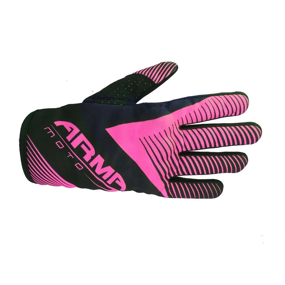 Armr MX8 MX Gloves Black Pink Default Title