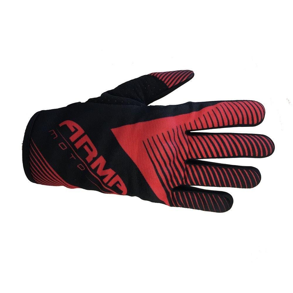 Armr MX8 MX Gloves Black Red Default Title