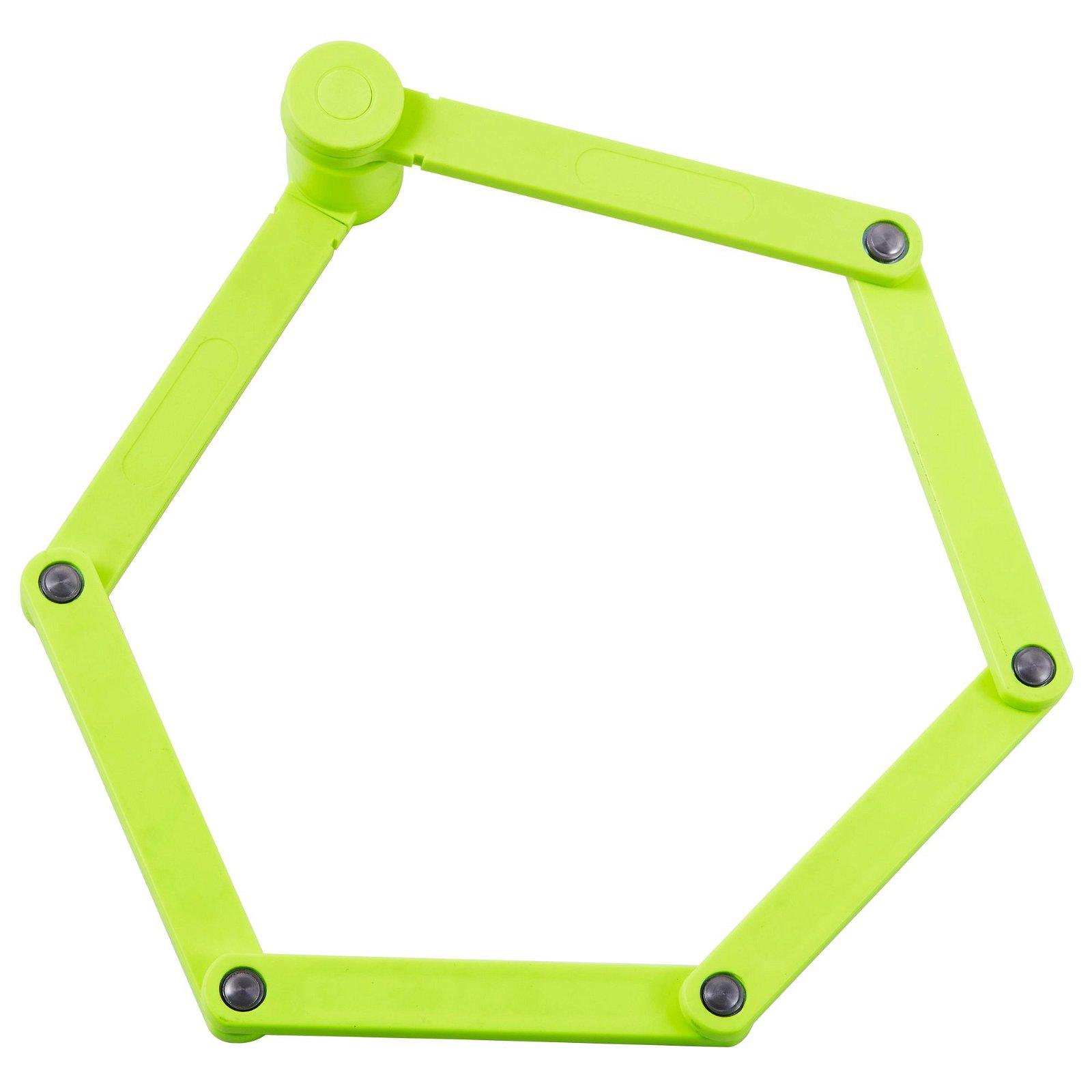 Folding Wheel Lock Yellow