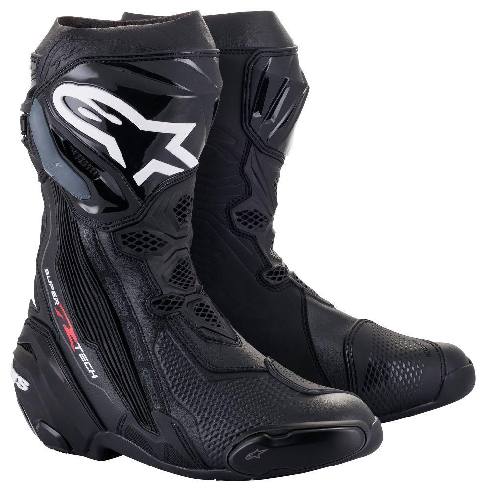 Alpinestars Supertech R Boots Black Mens - 6 - EU 39