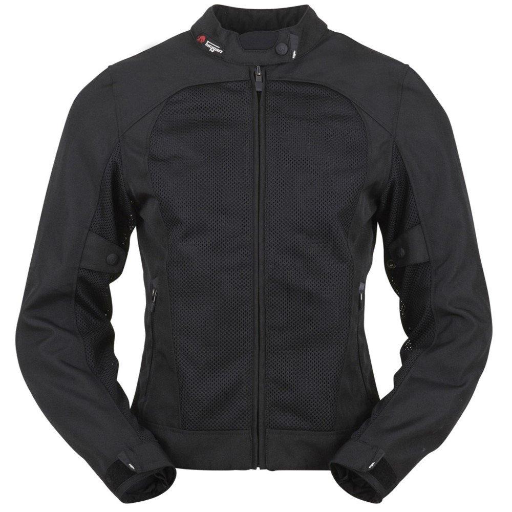 Genesis Mistral Ldy Evo Jacket Black Furygan Ladies