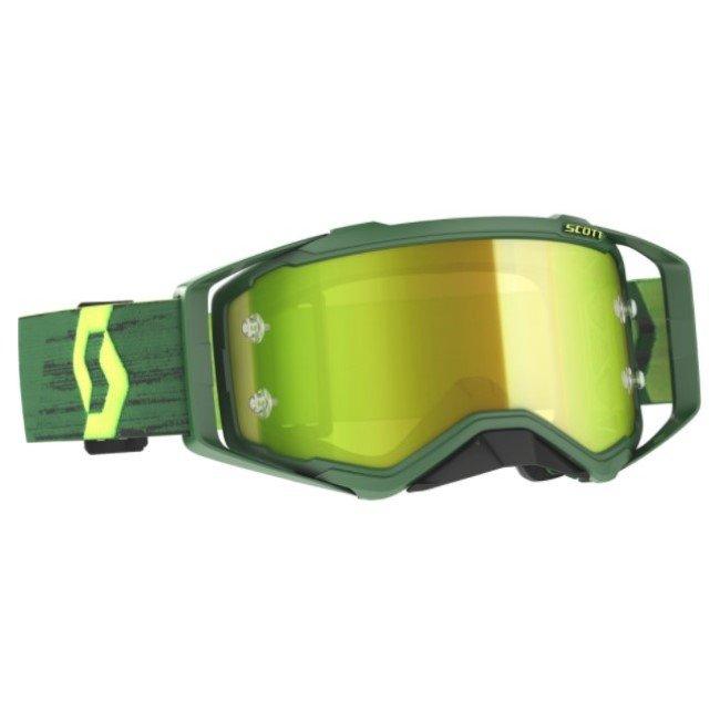 Prospect Goggles Green Yellow Yellow Chrome Wor Motocross Goggles