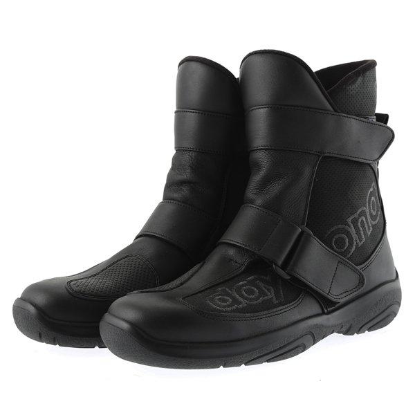 Daytona Journey XCR Short Black Motorcycle Boots Pair