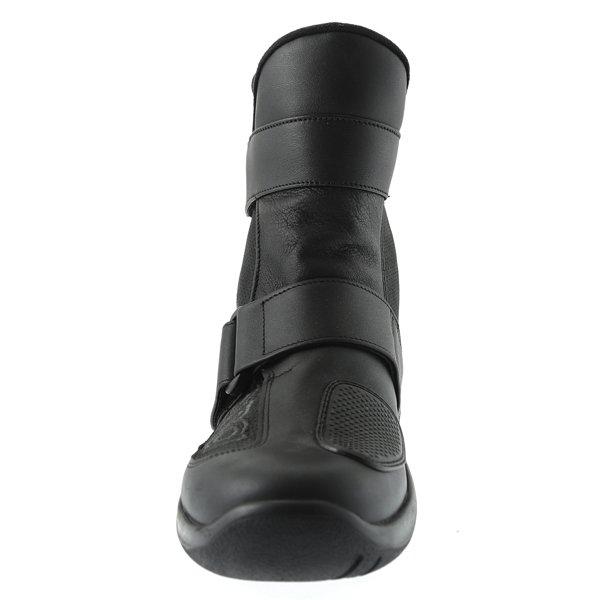 Daytona Journey XCR Short Black Motorcycle Boots Front