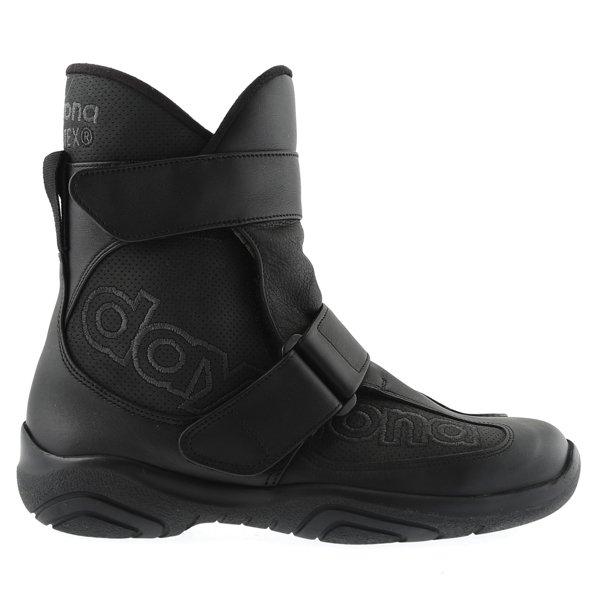 Daytona Journey XCR Short Black Motorcycle Boots Outside leg