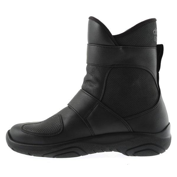 Daytona Journey XCR Short Black Motorcycle Boots Inside leg