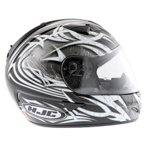 HJC IS-16 Scratch Black Full Face Motorcycle Helmet Right Side