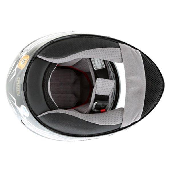 HJC IS-16 Scratch Black Full Face Motorcycle Helmet Inside