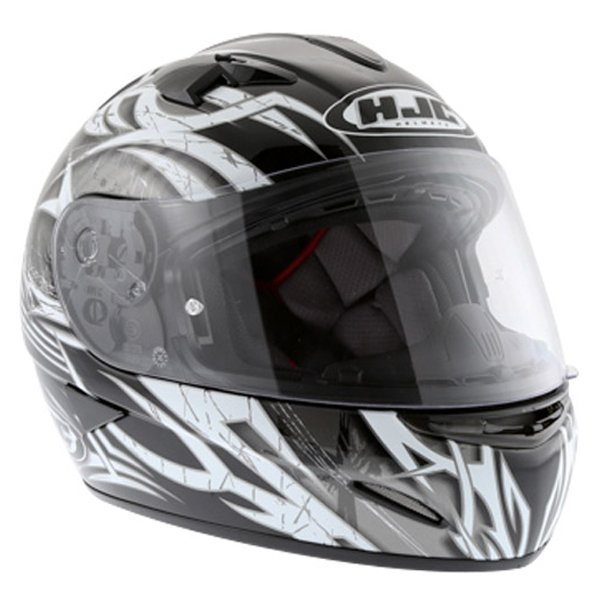 HJC IS-16 Scratch Black Full Face Motorcycle Helmet Front Right