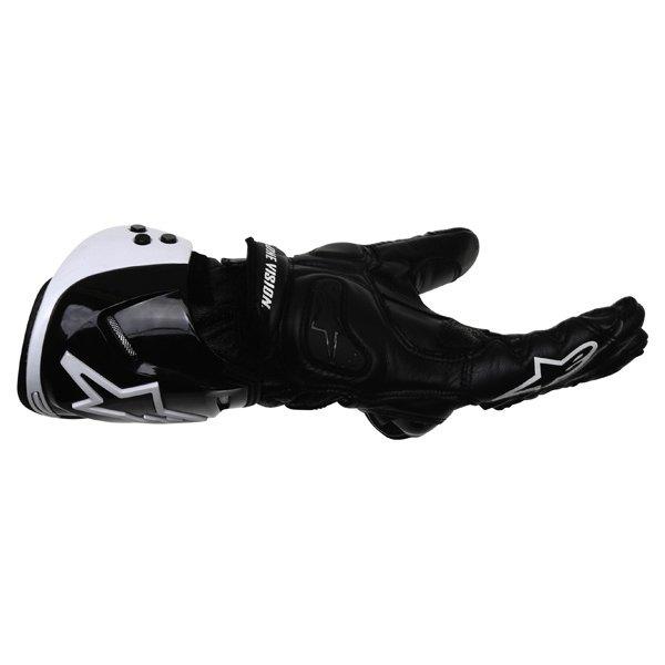 Alpinestars GP Pro Black Motorcycle Gloves Little finger side