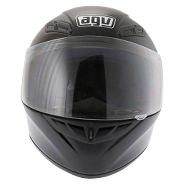 AGV K4 Black Full Face Motorcycle Helmet Front