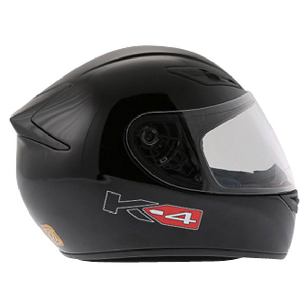 AGV K4 Black Full Face Motorcycle Helmet Right Side