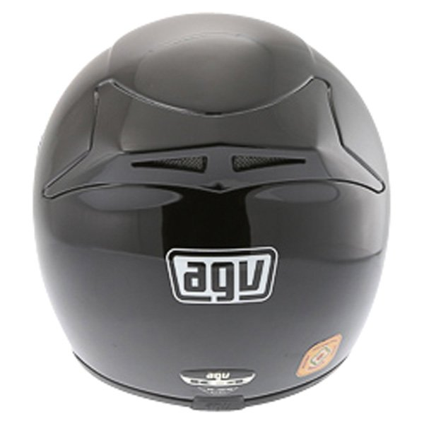 AGV K4 Black Full Face Motorcycle Helmet Back