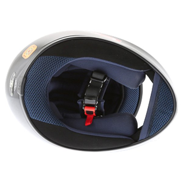 AGV K4 Black Full Face Motorcycle Helmet Inside