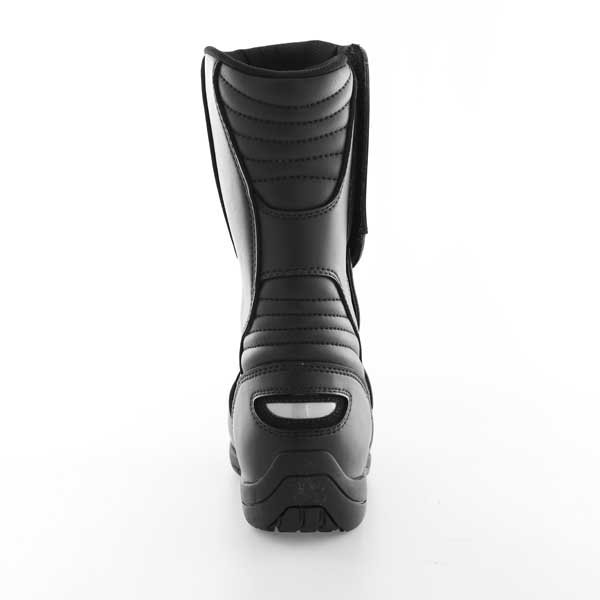 Alpinestars Alpha Touring Black Waterproof Motorcycle Boots Heel