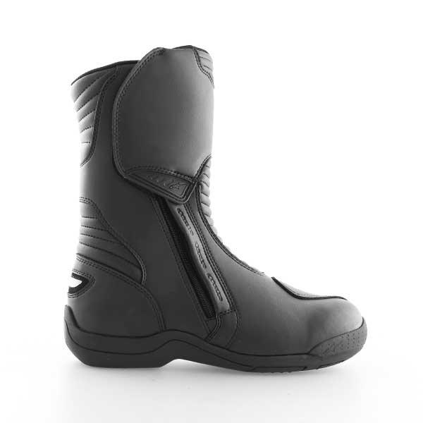 Alpinestars Alpha Touring Black Waterproof Motorcycle Boots Inside leg