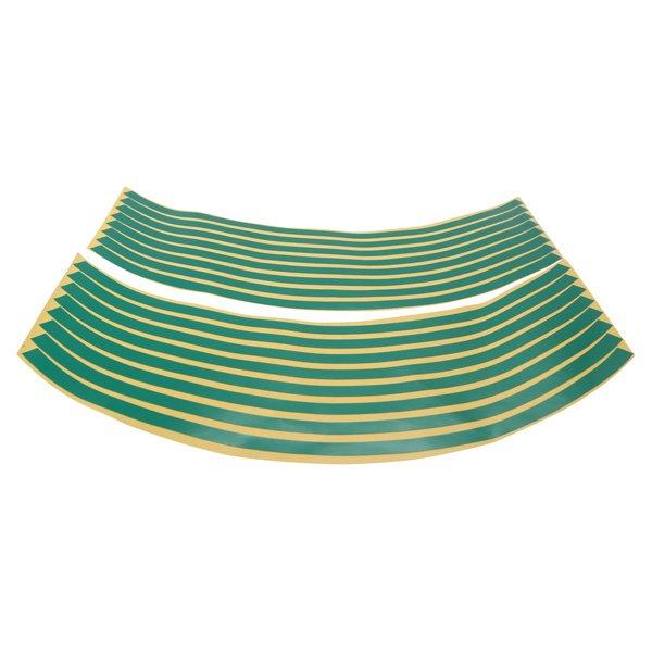 Doctor Bike Green Wheel Stripes