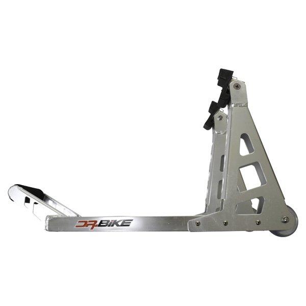 Doctor Bike Aluminium Front Paddock Stand Side
