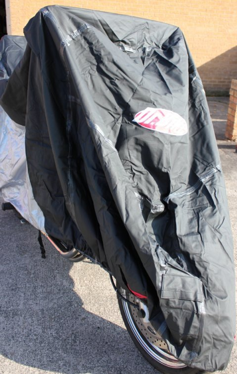 Doctor Bike Dual Layer Large Waterproof Cover Front