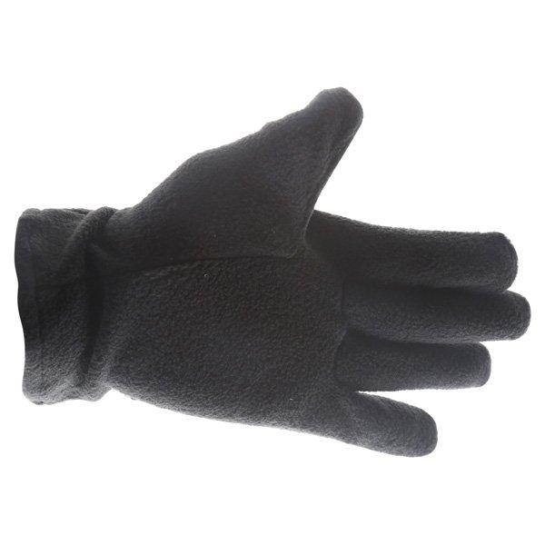 Doctor Bike Black Fleece Gloves Palm