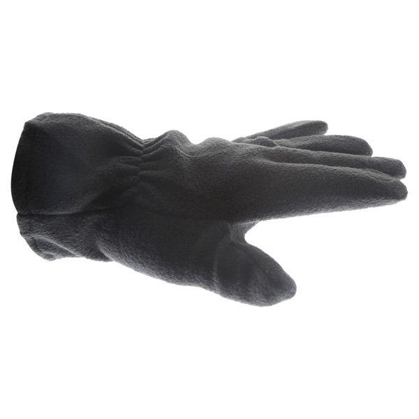 Doctor Bike Black Fleece Gloves Thumb Side