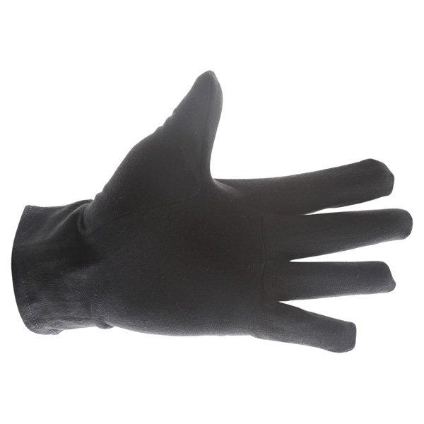 Doctor Bike Black Cotton Gloves Palm