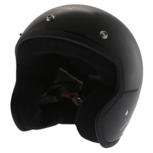Arai Freeway 2 Black Open Face Motorcycle Helmet Front Left