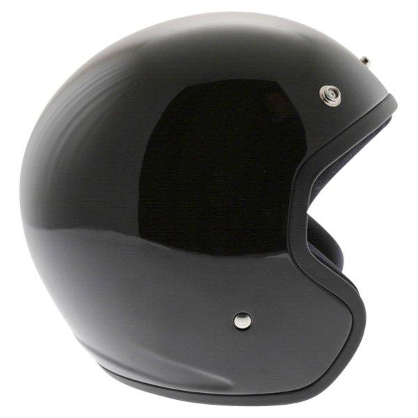 Arai Freeway 2 Black Open Face Motorcycle Helmet Right Side